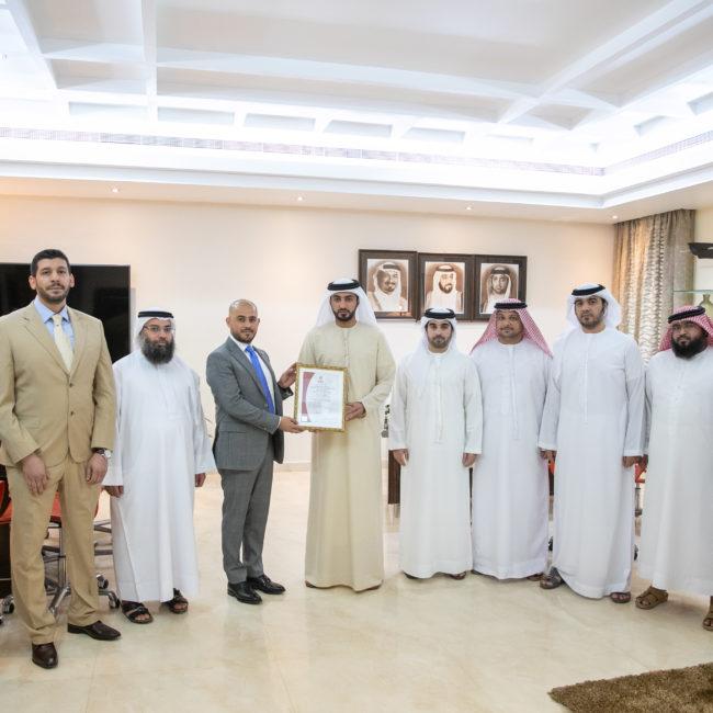 بلدية عجمان تحصد شهادة (ISO 10015:1999) الخاصة بالتدريب