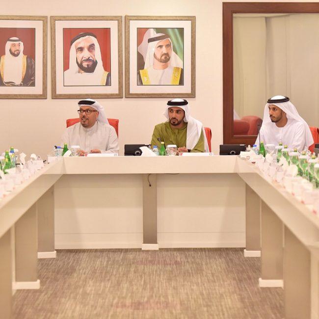 اللجنة الانتقالية تعقد اجتماعها الثاني برئاسة راشد بن حميد النعيمي