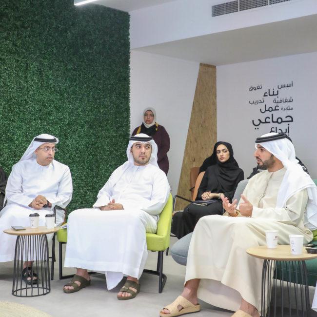 سمو الشيخ راشد بن حميد يؤكد أن الكفاءات البشرية تعقد العزم على تحقيق الأفضل دوماً