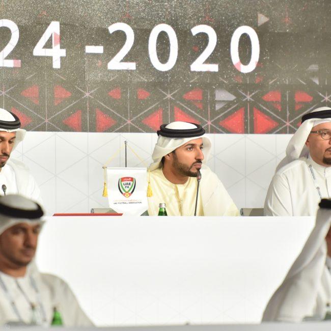 راشد بن حميد : نُعاهد القيادة الرشيدة على مواصلة العمل في سبيل الارتقاء بكرة القدم