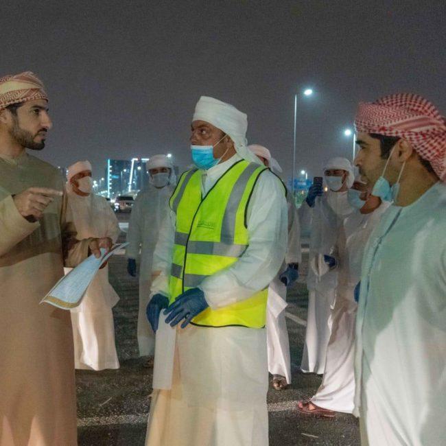 بلدية عجمان تنفذ أضخم عملية تعقيم على مستوى الإمارة